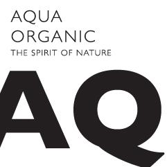 AQUA ORGANIC - Zeichen für organische Kosmetik