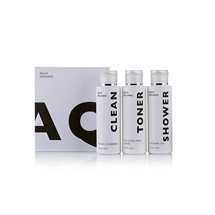 Travel Kit - Clean, Toner and Shower